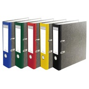 Ordner Standard wolkenmarmoriert, mit 2 Ringen, 80mm Rücken farbig, für Format DIN A4 PREM'TOUCH