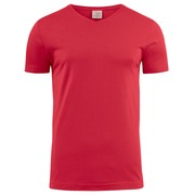 Printer Heavy V t-shirt Red 4XL