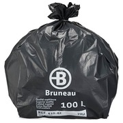 Garbage bag 100 L superior quality Bruneau - box of 100