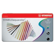 Stabilo kleurpotlood Aquacolor 12 potloden