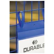 Durable documenthouder ft A4, met sluitriemen, verticaal, pak van 50 stuks