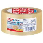Ruban d'emballage Tesa 50mmx66m transparent ultra strong