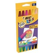 Bic Kids pastels à l'huile, étui de 12 pièces