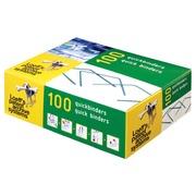 Loeff's quickbinder Longueur 100 mm.                     Emballage de 100 pièces