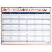 Calendrier Mémento 2019 français