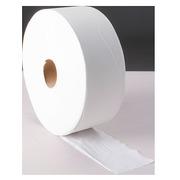 Toiletpapier Maxi Jumbo ecologisch enkele laag wit - doos van 6 rollen 600 m