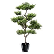 Plante artificielle d'intérieur Bonsaï Pin 95 cm