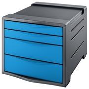Esselt bloc à tiroirs Vivida 4 tiroirs, bleu