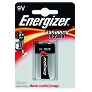 Blister 1 battery Energizer Power 6LR61