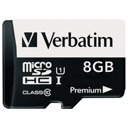 Verbatim - Flash-Speicherkarte - 8 GB - microSDHC
