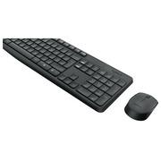 Logitech MK235 - Tastatur-und-Maus-Set - Niederlande/Belgien