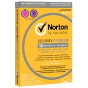 Norton Security Premium 2019 - 10 Appareils - 1 an - PC/Mac/iOS/Android