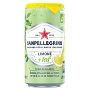 San Pellegrino lemon tea 25 cl - pack of 24 cans
