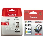 Big pack inkjet Canon hoge capaciteit PG545XL+ CL546XL