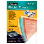 Couverture Fellowes A4 PVC 300 microns 100 pièces