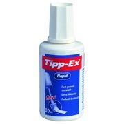 Correcteur Liquide Tipp-Ex Rapid Mousse 20ml blister 2+1grat