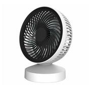 Ventilateur de table Perel blanc
