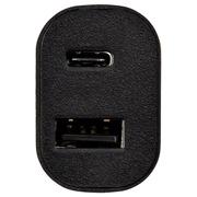 Adaptateur Hama pour auto USB-C + USB-C câble 1m