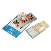 Sachet de 10 étuis de protection doubles PVC lisse 20/100e - A4