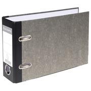 Ordner Standard wolkenmarmoriert, mit 2 Ringen, 70mm Rücken, für Format DIN A5 quer