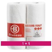 Pack 1 + 1 carton de 28 rouleaux Essuie tout ménager Bruneau offert