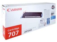 Toner Canon 707 couleurs séparées pour imprimante laser