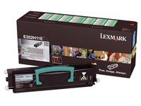 Toner Lexmark E352H11E zwart