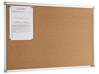 Cork board aluminium frame 60 x 90 cm