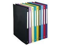 Ringbuch aus Polypropylen mit 4 Ringen - 15 mm - Auswahl von klassischen Farben