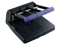 Locher große Werke 4 Löcher 4400 Rapesco - Kapazität 150 Blatt - schwarz