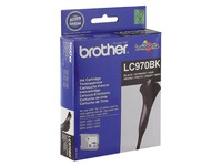 Cartridge zwart Brother LC970 BK