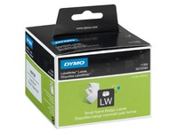 Roll, white labels for badges - Dymo LW330 Turbo
