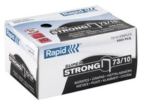 Box of 5000 strong staples Rapid 73/10 galvanized