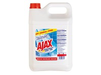 Bottle of 5 L Ajax l fresh