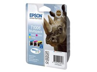 Pack cartridges 3 kleuren Epson C13T100