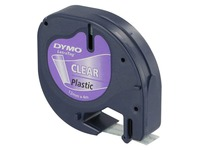 Plastic ribbon for Dymo Letratag