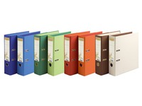 Bicoloured lever-arch file Forever with back 8 cm assorted colours