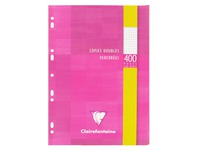 Etui 200 copies doubles Clairefontaine Metric format A4 21 x 29,7 cm petits carreaux