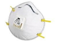 Doos 10 anti-stof maskers met ventiel FFP1 3M