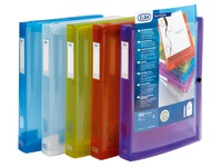 Box file, polypropylene, translucent, back 4 cm