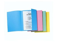 Pack of 50 folders with side flap