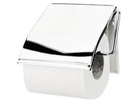 Distributeur papier toilette rouleau Brabantia métal inox