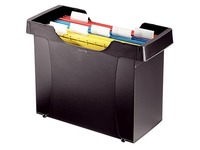 Container for filing maps black