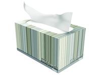 Verdeeldoos met 70 papieren doekjes Kleenex