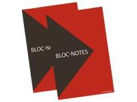 Bloc Notes Bruneau Manager non perforé format A5 petits carreaux 100 feuilles