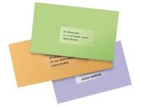 Pak 525 adresetiketten Avery J 8560 63,5 x 38,1 mm voor inkjetprinter
