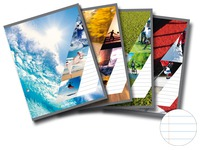 Notepads Splendid A4 210 x 297 mm lined 100 sheets