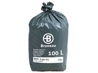 Box of 200 plastic bags 100L