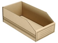 Cardboard storage boxes 400x100x110mm (4,4 liters)
