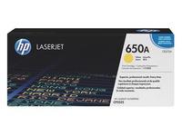 Toner HP 650A afzonderlijke kleuren